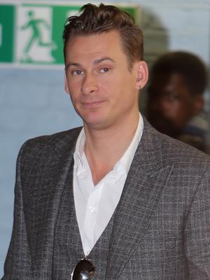 Lee Ryan outside the ITV studios 01/29/2014 London, United Kingdom