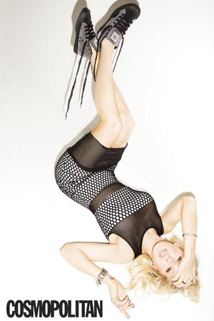 Ellie Goulding appears in US Cosmopolitan - 9 April 2014