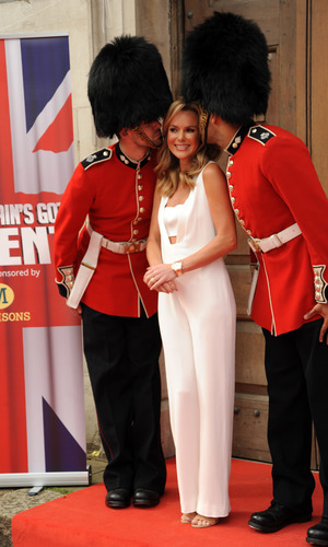 Amanda Holden - Britain's Got Talent - press launch held at St Luke's Church - Arrivals 9 April 2014.