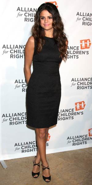 Selena Gomez attends The Alliance for Children's Rights Dinner in Los Angeles, America - 7 April 2014