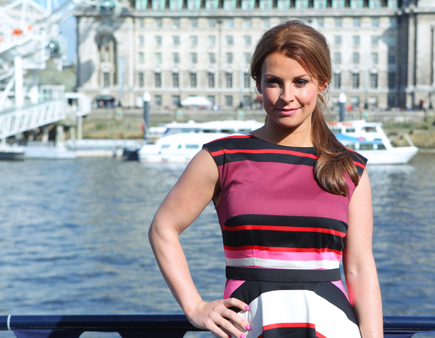 Coleen Rooney launches her signature swimwear collection for Littlewoods in London -