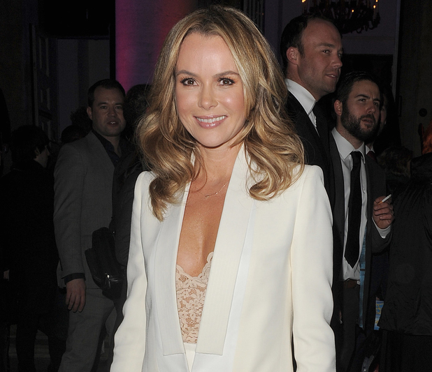 Amanda Holden at 'I Can't Sing' opening night afterparty held at One Marylebone - Departures - 26 March 2014