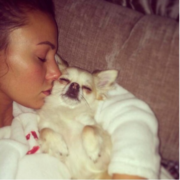 Michelle Keegan and Pippy Twitter 8/4/14