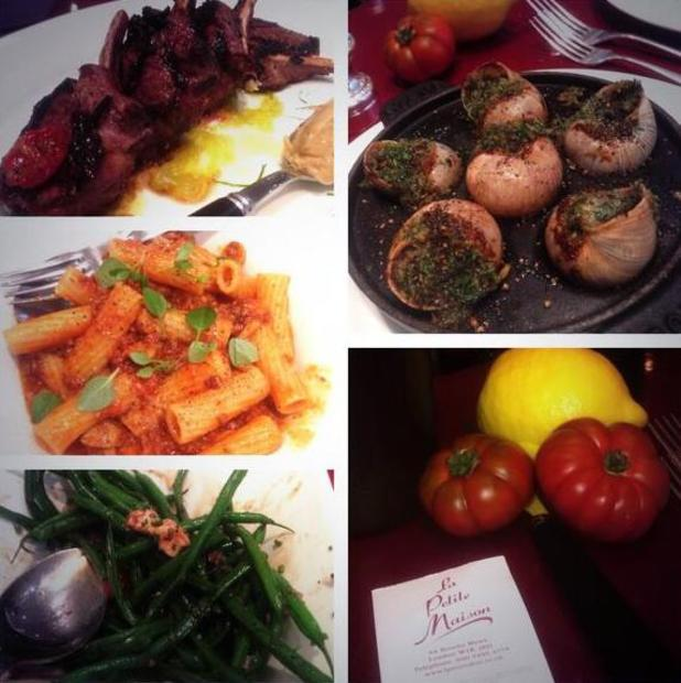 Ferme McCann shares a picture of her lunch - 7 April 2014