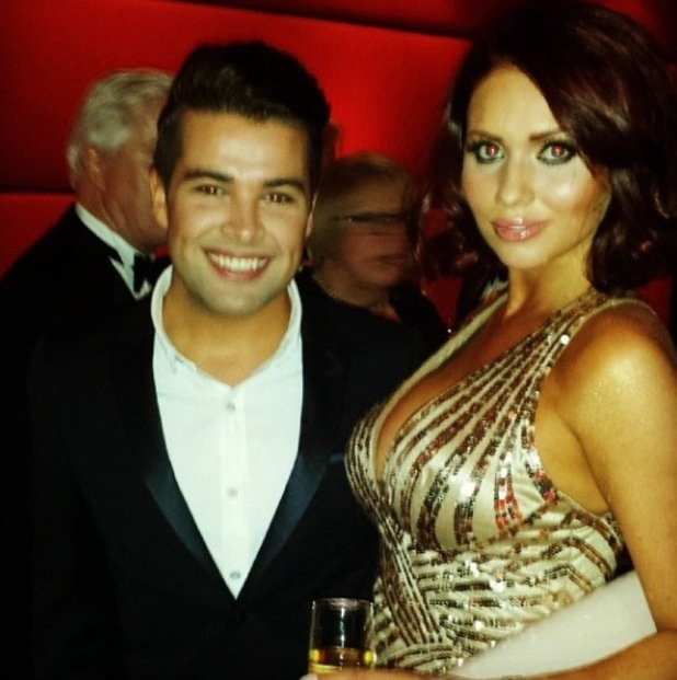 Amy Childs and Joe McElderry at Soldiering On Awards - 5 April 2014