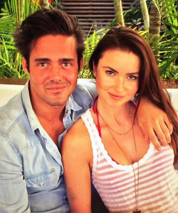 Made In Chelsea's Spencer Matthews cosies up to Emma Miller (9 January 2014).