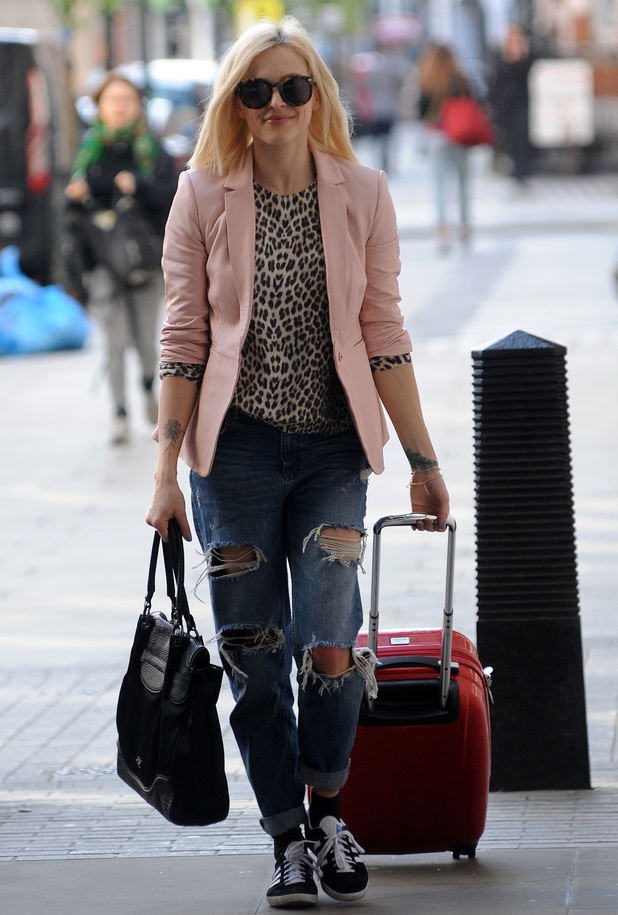 Fearne Cotton, 10 April