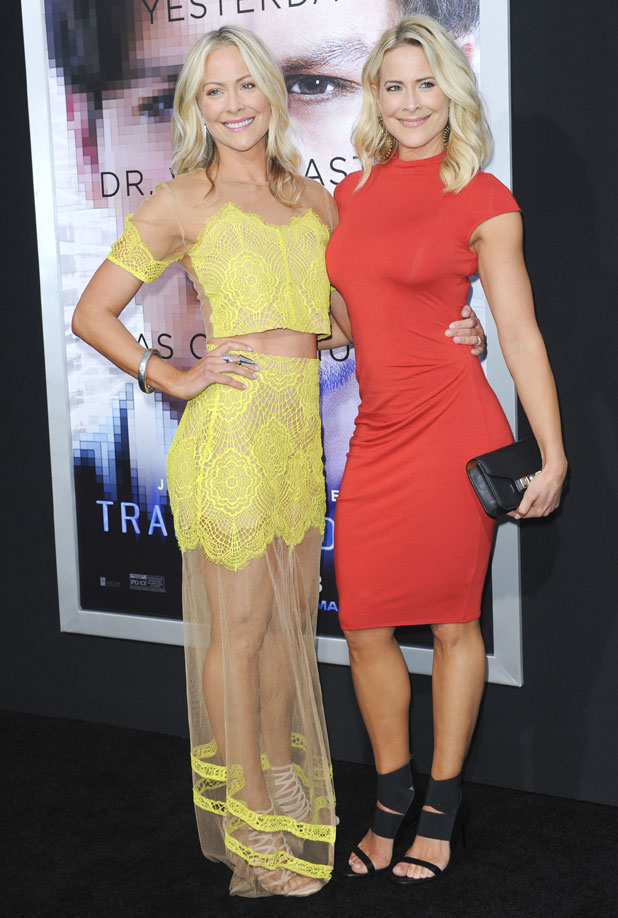 Brittany and Cynthia Daniel, Los Angeles premiere of Warner Bros. Pictures and Alcon Entertainment's 'Transcendence' at Regency Village Theatre, 10 April 2014