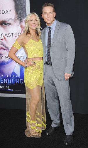 Cynthia Daniel and Cole Hauser, Los Angeles premiere of Warner Bros. Pictures and Alcon Entertainment's 'Transcendence' at Regency Village Theatre, 10 April 2014
