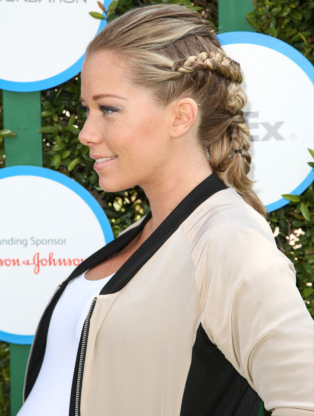 Kendra Wilkinson at the Safe Kids Day 2014 event held at The Lot - Arrivals, 5 April 2014