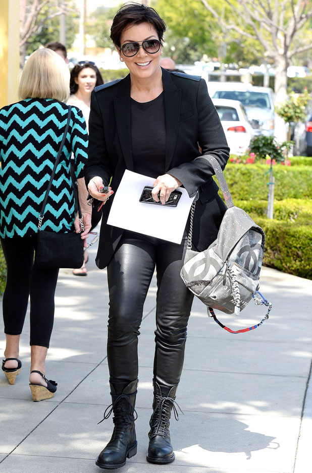 Kris Jenner out and about in Calabasas, California, America - 04 Apr 2014