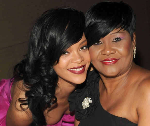Rihanna and her mum Monica Braithwaite, Time magazine's 100 Most Influential People in the World Gala, New York, America - 24 Apr 2012
