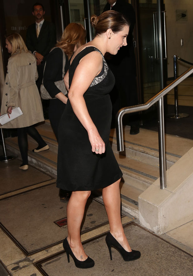 Sam Bailey, Jog-on to Cancer' fundraiser in aid of Cancer Research UK held at The Kensington Roof Gardens - Arrivals, 9 April 2014