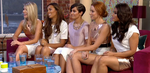 The Saturdays appear on ITV's This Morning, 7 April 2014