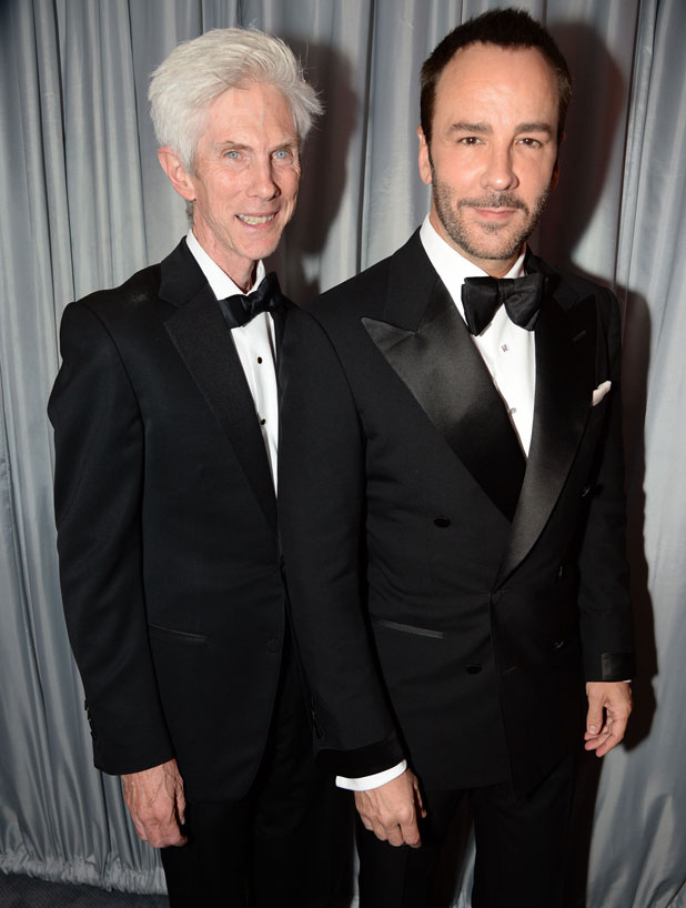 GQ Men of the Year Awards, Royal Opera House, London, Britain - 03 Sept 2013 Tom Ford and Richard Buckley