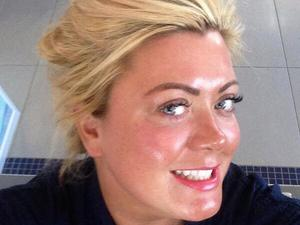 TOWIE's Gemma Collins looks fabulous after fake tan and lash treatment