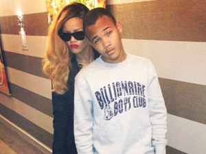 Rihanna's touching message to little brother Rajad on his 18th birthday