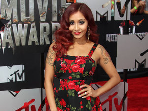Pregnant Snooki: 'I'm loving working out... but running isn't as fun'
