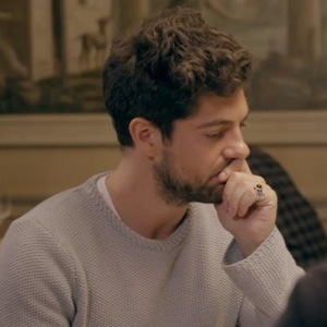 Made In Chelsea Alex Mytton speaks to friend Robbo. Aired 14 April 2014.