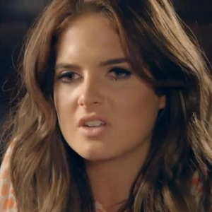 Made In Chelsea Binky Felstead confides in Lucy Watson. Aired 14 April 2014.
