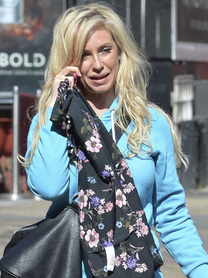 Josie Gibson out and about, London, Britain - 15 Apr 2014