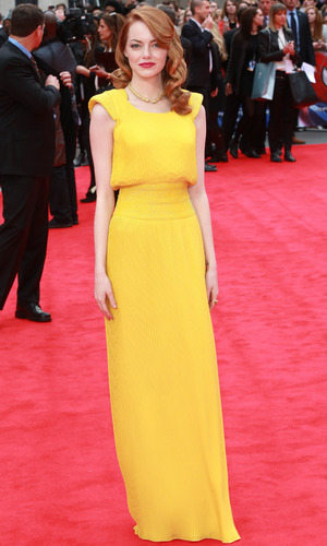 Emma Stone, 'The Amazing Spider-Man 2' World Premiere held at the Odeon Leicester Square - Arrivals, 11 April