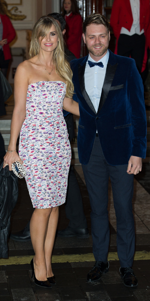 Vogue Williams Brian McFadden at I Can't Sing premiere