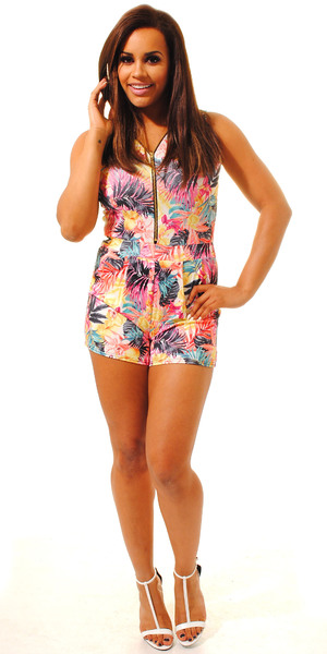 Lateysha Grace models her new S/S 14 clothing collection - 15 April 2014