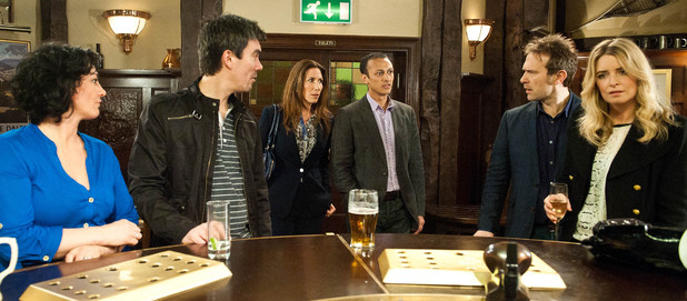 Emmerdale, Charity engaged and pregnant, Thu 17 Apr
