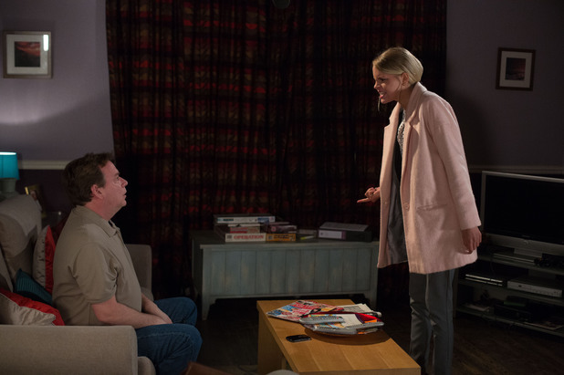 EastEnders, Ian confronts Lucy, Fri 18 Apr