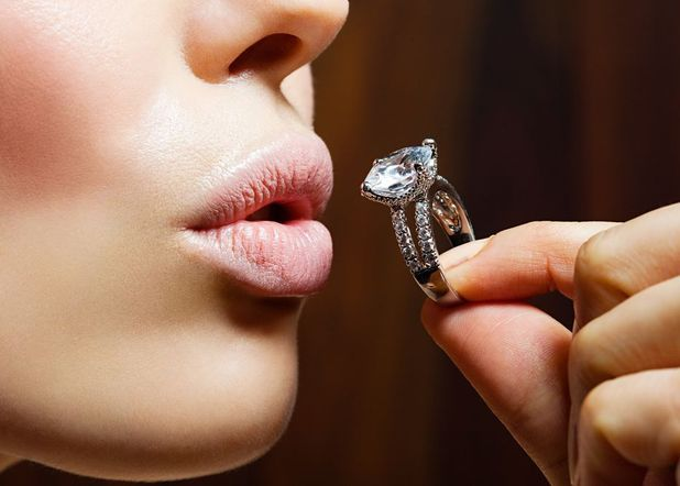 debate - would you buy your own engagement ring?