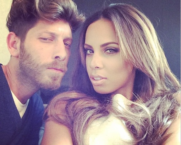 Rochelle Humes and her stylist Nick