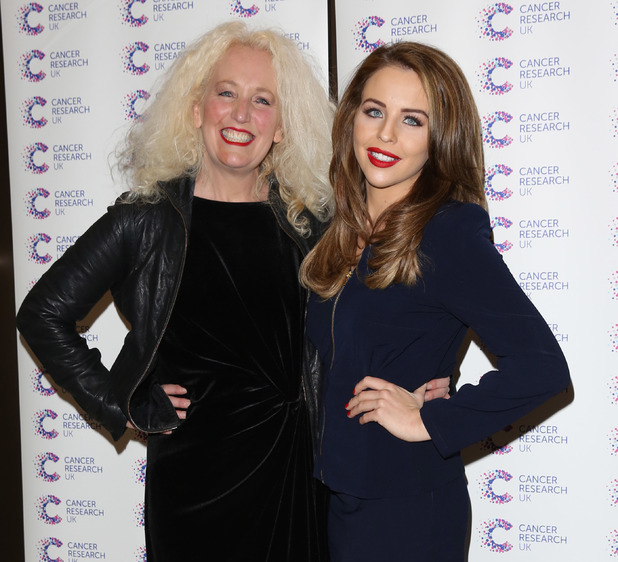 Debbie Douglas and Lydia Bright, 'James' Jog-on to Cancer' fundraiser in aid of Cancer Research UK held at The Kensingron Roof Gardens - Arrivals