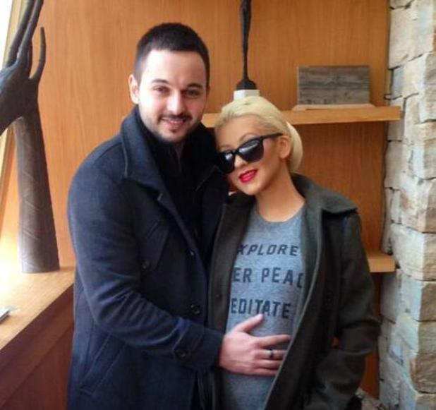 Christina Aguilera and Matthew Rutler announce they are expecting a baby - 17 APRIL 2014