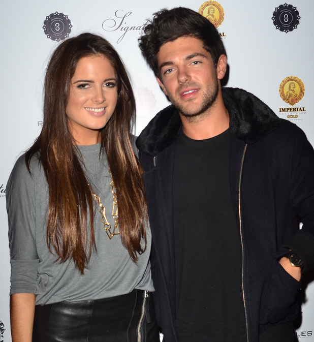 Imperial Collection Gold Vodka launch at Raffles Chelsea - Arrivals BINKY FELSTEAD, ALEX MYTTON