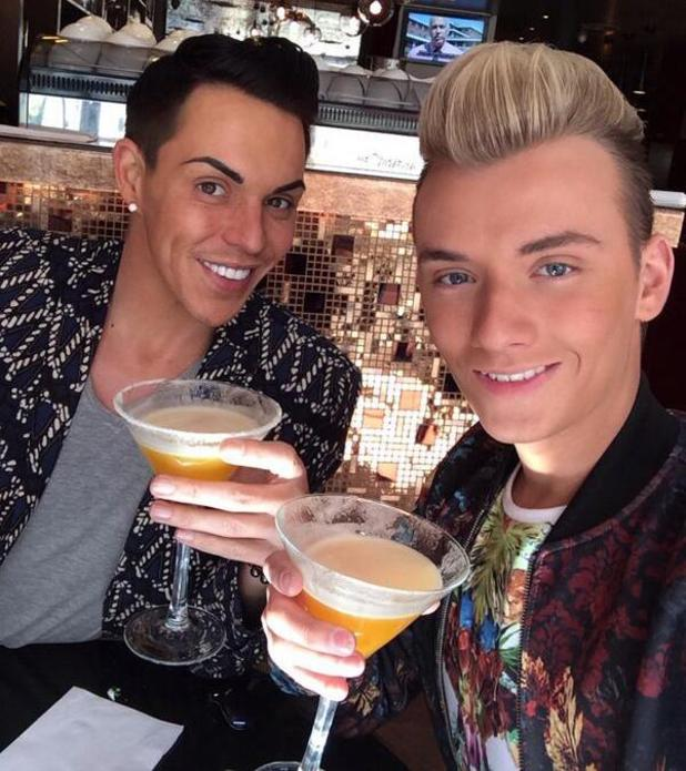 TOWIE's Bobby Norris and Harry Derbidge enjoy a day out in London - 16 April 2014