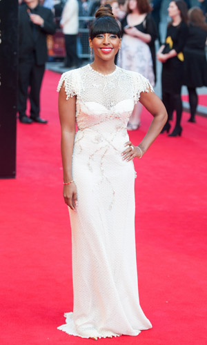 Alexandra Burke at Laurence Olivier Awards on 13 April 2014
