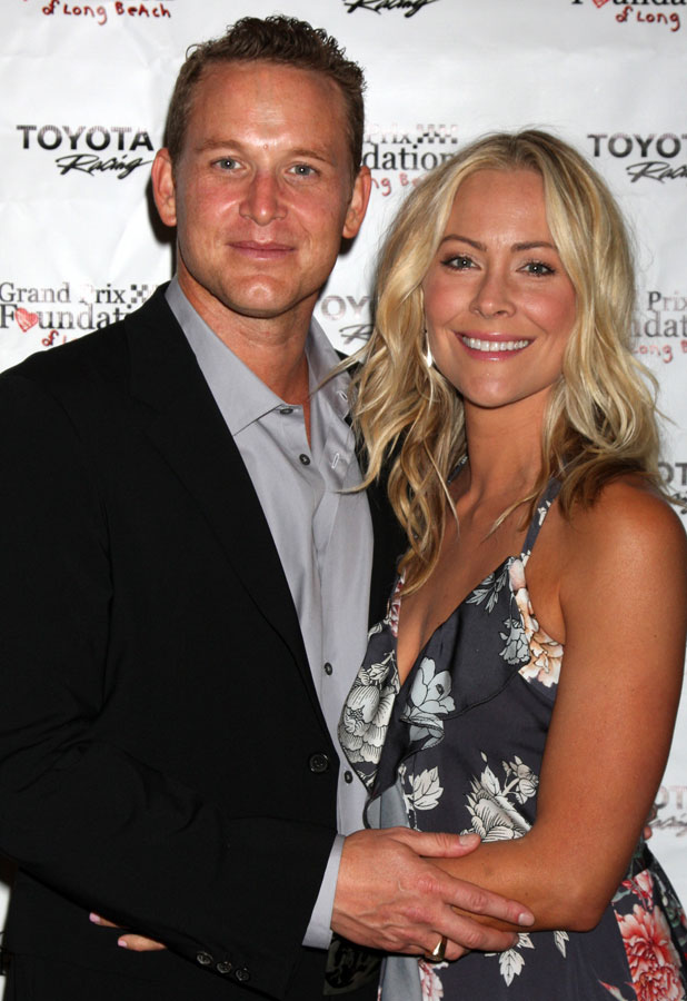 Cynthia Daniel and Cole Hauser at Long Beach Grand Prix Foudation Gala - Arrivals, 12 April 2014