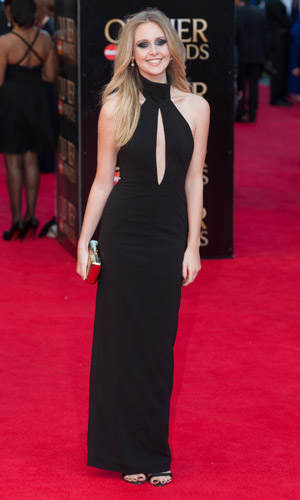Diana Vickers at Laurence Olivier Awards on 13 April 2014