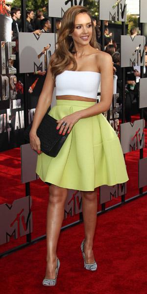 Jessica alba mtv movie awards