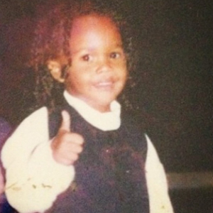 Rihanna posts childhood picture of brother Rajad on his 18th birthday, 15 April 2014