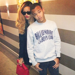 Rihanna and brother Rajad go shopping together, 2013
