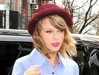 Taylor Swift pairs tiny shorts with long socks while out in New York