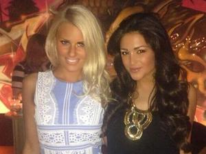 TOWIE's Danielle Armstrong enjoys girls' night out with Celebrity Big Brother star Casey Batchelor (23 April).