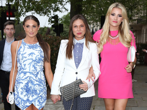 TOWIE's Grace, Georgia and Fran enjoy a girls' night in London!