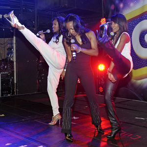 ITV's Big Reunion: Eternal perform live at G-A-Y with guest Tony Momrelle of Incognito 02/22/2014 London, United Kingdom