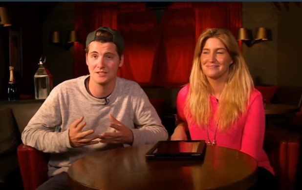 Cheska Hull and Stevie Johnson appear on Mad On Chelsea - 25 april 2014