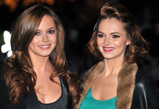 Kara and Hannah Tointon at The UK premiere of 'Harry Brown' held at the Odeon Leicester Square. Nov 2009