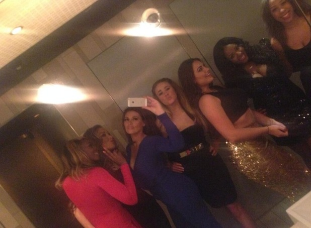 Jessica Wright enjoys a night out with her friends at DSTRK - 20 April 2014