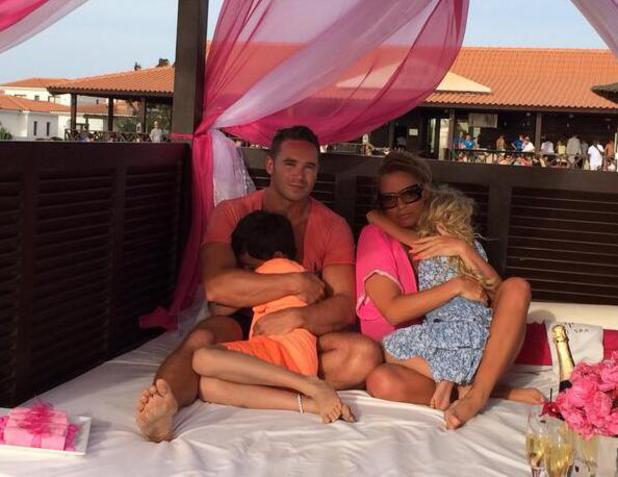 Katie Price enjoys a family holiday in Cape Verde (22 April).